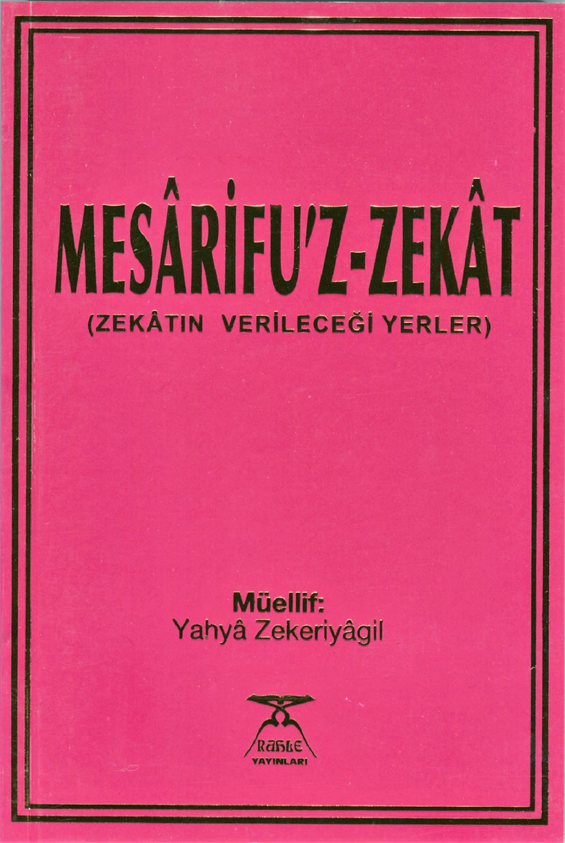 Mesârifu'z-Zekât (Zekâtın verileceği yerler)