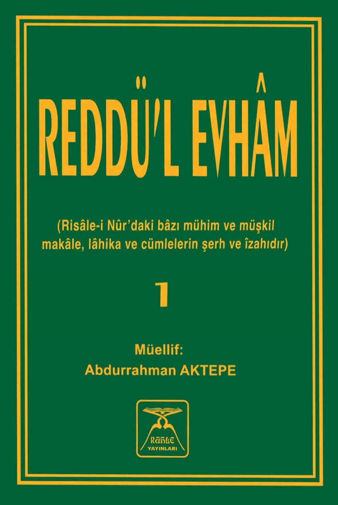 Reddü'l-Evhâm-1