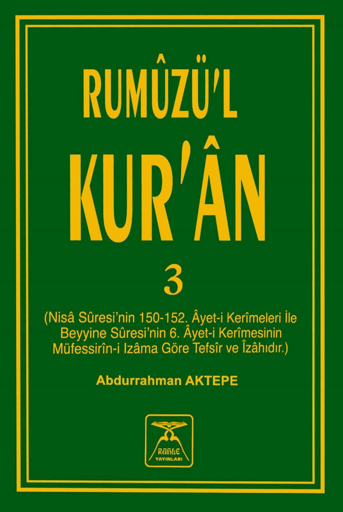 Rumûzü'l-Kur'ân-3